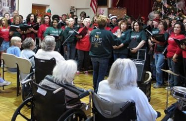 ACC singers perform during the annual Tour of Hope