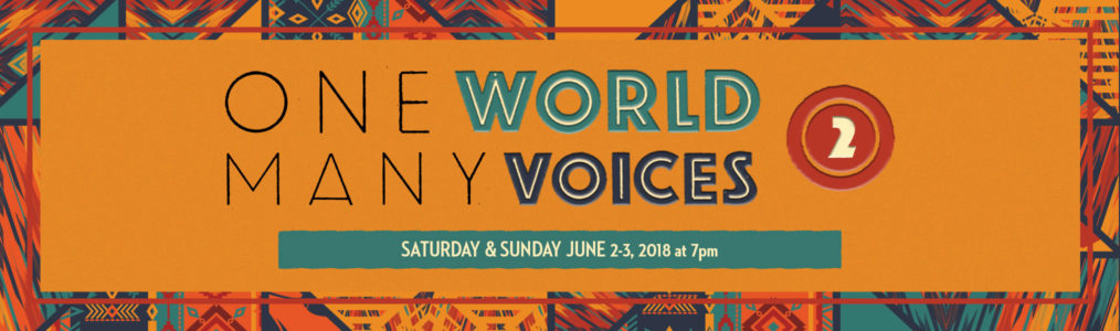Angel City Chorale Concert June 2 and 3, 2018: One World, Many Voices