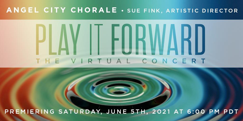 Play It Forward, June 5 at 6pm