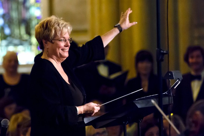 Sue Fink Conducting