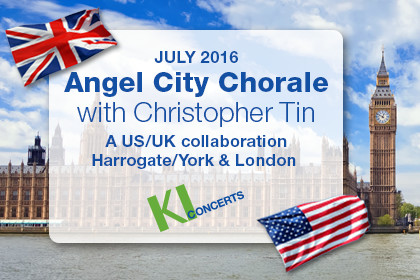 Angel City Chorale with Christopher Tin: A US/UK collaboration